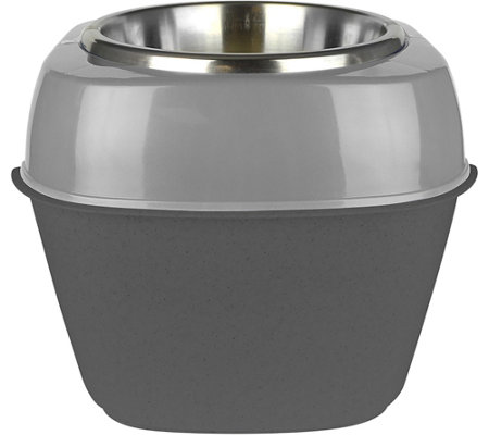 Pet Zone Store-N-Feed Single Pet Feeder
