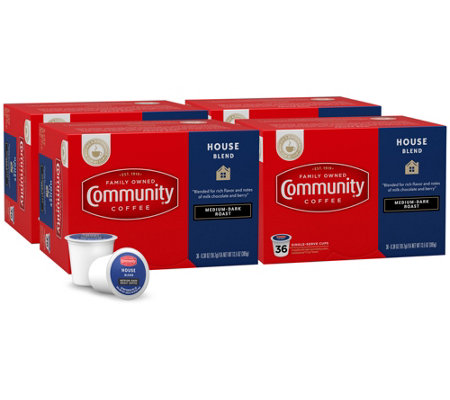 Community Coffee 144-Ct House Blend Single-Serve Cups