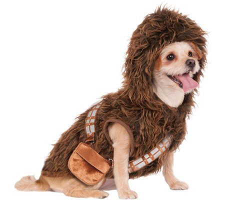 Rubie's Chewbacca Hoodie Pet Costume-Large