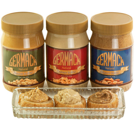 Germack (3) 16-oz Nut Butters
