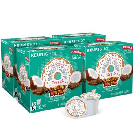 Keurig 72 Ct Donut Shop Coconut Mocha K Cup Pods