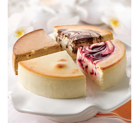 Junior's Sugar-Free Cheesecake Sampler