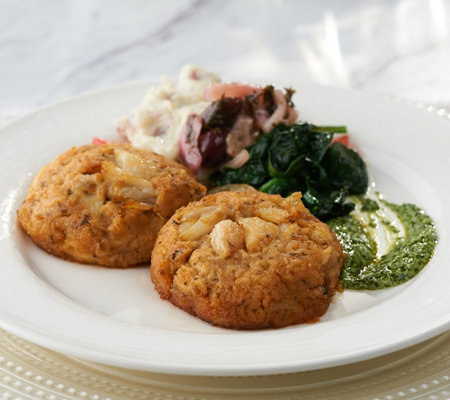 Graham & Rollins (8) 5 oz. Classic Crab Cakes Auto-Delivery