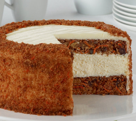 Junior S Carrot Cake Cheesecake Page 1 Qvc Com