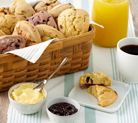 Wolferman S 16 3 Oz Tearoom Scone Sampler