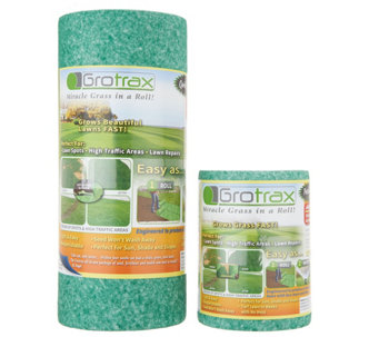 GroTrax 50 Sq. Ft. Roll Out Grass W/ 20 Sq. Ft.