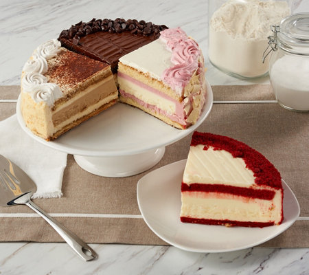 Junior's 6lb. Cheesecake & Layer Cake Sampler