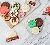 SH 12/3 Cheryl's 24-Piece Holiday Frosted Cookies - M60748