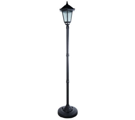 Westinghouse Solar Ed Traditional 84 Lamp Post With 6 Led Lights