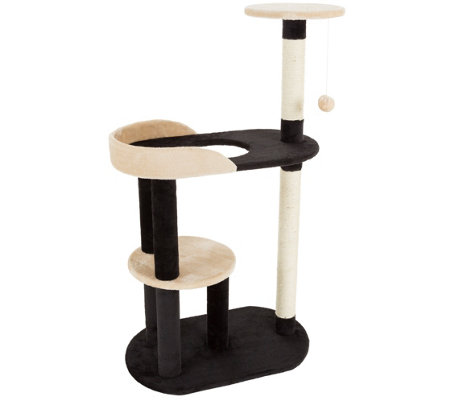 Petmaker Cat Tree 3-Tier with 2 Scratching Posts