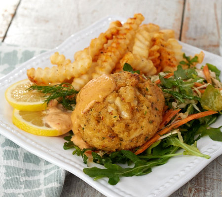 Great Gourmet (7) 6-oz East Meets West Jumbo Crab Cake Auto-Delivery