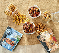 Pear's Gourmet (5) 6-8-oz Bags of Premium Quality Flavored Nuts - M62150