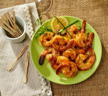 San Pedro Fish Market 4 8 Oz World Famous Shrimp Trays