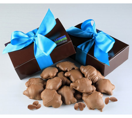 Landies Candies Milk Chocolate Almond Clusters