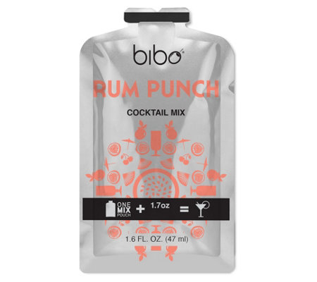 Bibo Barmaid Rum Punch Cocktail Pouches - 18 Count