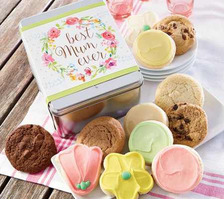 Cheryl's Best Mum Ever Gift Tin - 12 Cookies