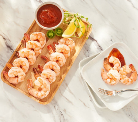 SH 12/3 Martha Stewart 3-lbs Wild Peeled Shrimp w/ Cocktail Sauce