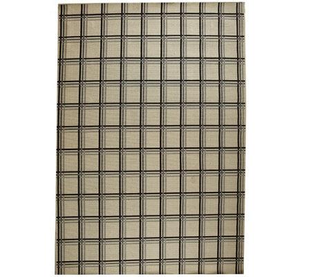 Scott Living 8x10 Windowpane Plaid Indoor/Outdoor Rug - Page 1 — QVC.com