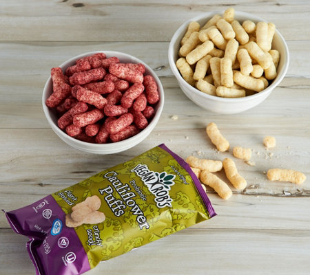 Vegan Rob's (18) 1.25-oz Puff Snacks Variety Pack