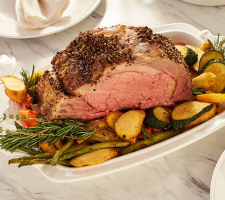SH 11/5 Martha Stewart 5-6-lb Rib Roast with Au Poivre Rub
