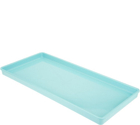 "Martha Stewart Small 8.5""X 18"" Double Bowl Pet Tray"