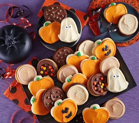 Cheryl's 24pc Halloween Frosted Cookies