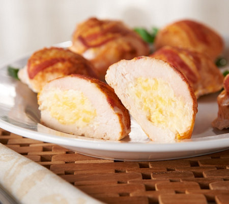Heartland Fresh (8) 6-oz Stuffed Chicken Breasts - 3 Cheese