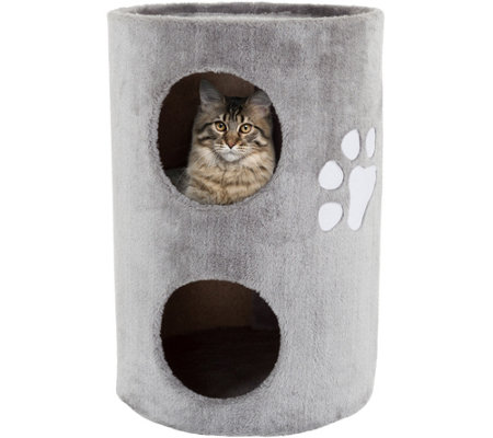 PETMAKER 2-Story Cat Condo & Scratching Surface