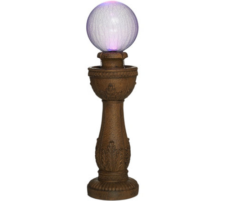Bernini Murano Color Changing Glass Ball Fountain