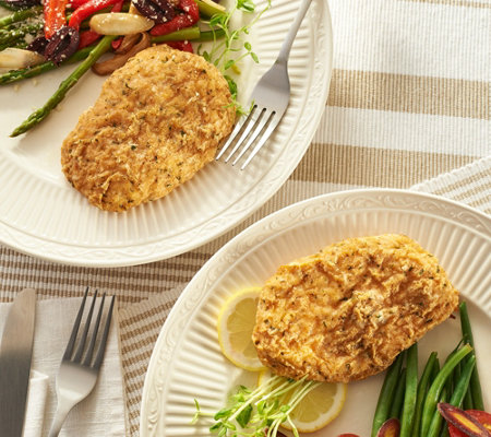 Stuffin Gourmet 10 5 Oz Parmesan Breaded Chicken Breasts