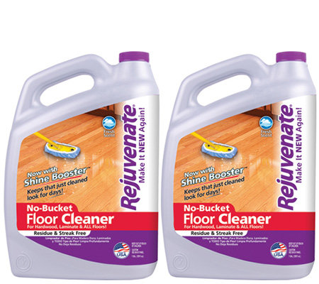Rejuvenate Set of 2 128-oz Floor Cleaners