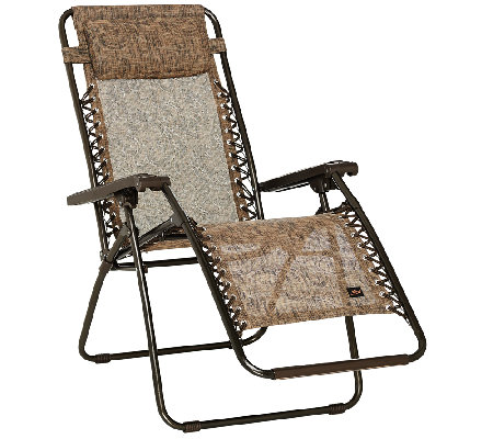 Bliss Hammocks Deluxe Gravity Free Recliner With Head Rest