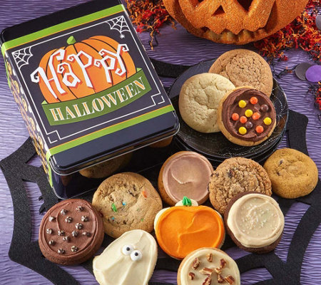 "Cheryl's ""Happy Halloween"" Cookie Tin"