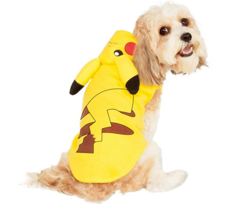 Rubie's Pikachu Pet Costume - Extra Large