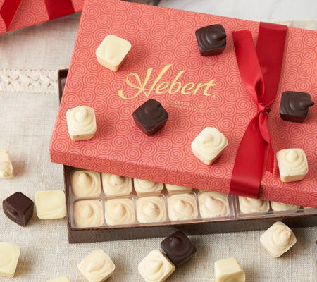 Hebert Candies (3) 1-lb Chocolate Geneva Asst Gift Boxes