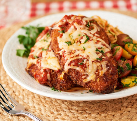 Heartland Fresh 9-Count Fully Cooked Chicken Parmesan Kit Auto-Delivery —  QVC.com