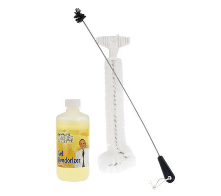 Don Aslett's Odor Control Gel Deodorizer and Disposal Brush