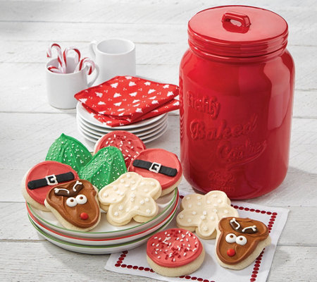 SH 12/3 Cheryl's Red Holiday Mason Jar