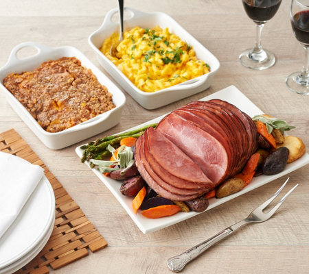 Kansas City 4.5-5.5-lb Boneless Ham with Sides Auto-Delivery