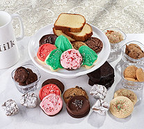 SH11/5 Cheryl's 65-Piece Holiday Bakery Sampler Auto-Delivery - M60465