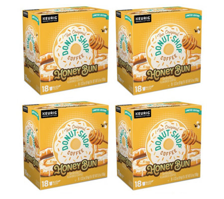 Keurig 72 Count Donut Shop Honey Bun K Cup Pods