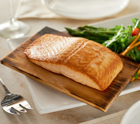 Egg Harbor (3) 1 lb. Cedar Plank Faroe Island Salmon Filets