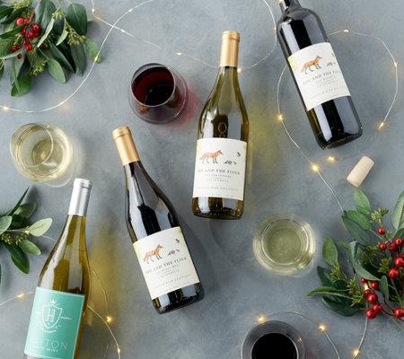 Pack of 12 Bride/'s Flock Personalised Mini Wine Bottle Labels