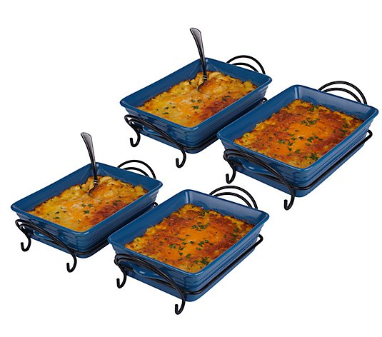 St. Clair (4) 2-lb Trays of Four Cheese Macaroni and Cheese