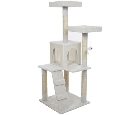 Petmaker 4' Penthouse Sleep and Play Cat Tree