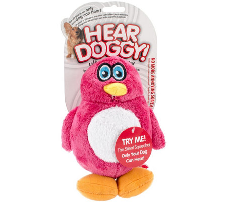 Hear Doggy Plush Toy Small-Penguin
