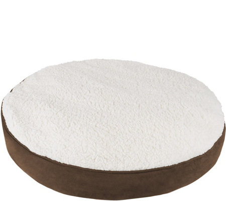 Petmaker Round Memory Foam Pet Bed Medium