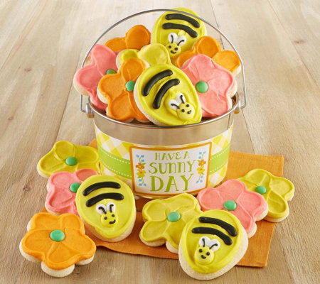 Cheryl's Sunny Day Buttercream Cookie Pail