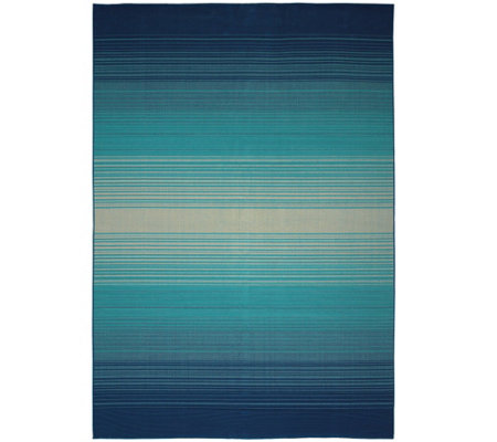 Scott Living 8x10 Kittery Ombre Indoor Outdoor Rug Page 1 Qvc Com