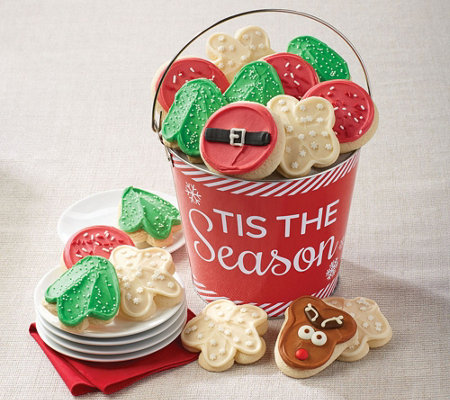 SH 12/3 Cheryl's Tis the Season Cutout Pail